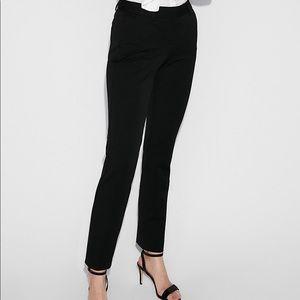 Mid Rise Ankle Columnist Pant Dress Pants Black 4